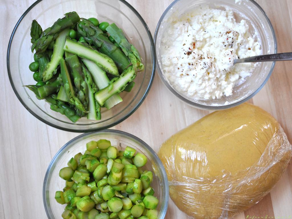 Raviolis à la Brousse & Légumes de Saison