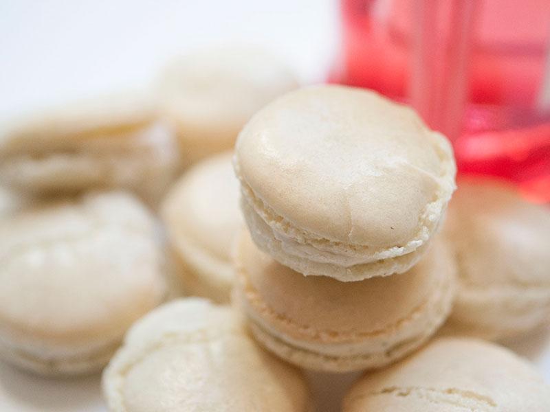 """Macarons : Le Gourmand """"Chocolat Blanc aux 4 Epices"""""""
