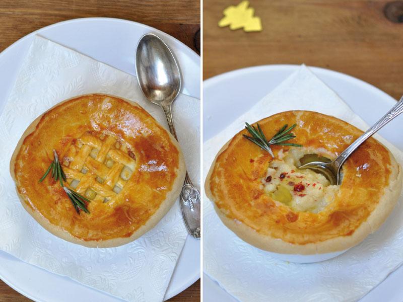 Soupe pie de topinambours huile de truffe for Entree de noel froide