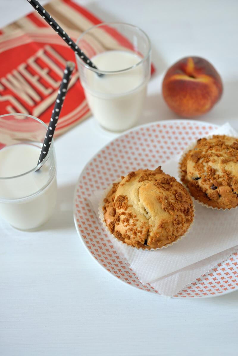 muffins au chocolat et bananes croquants. Black Bedroom Furniture Sets. Home Design Ideas